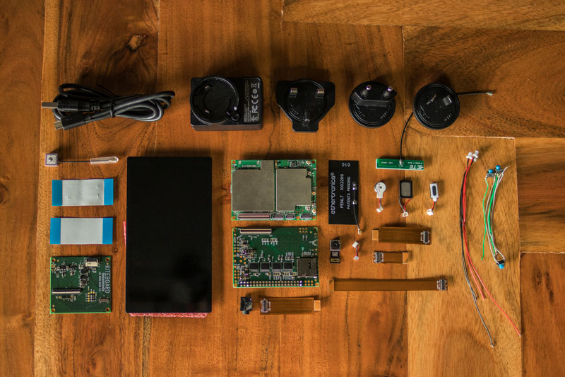 KiteBoard hardware kit to make own device