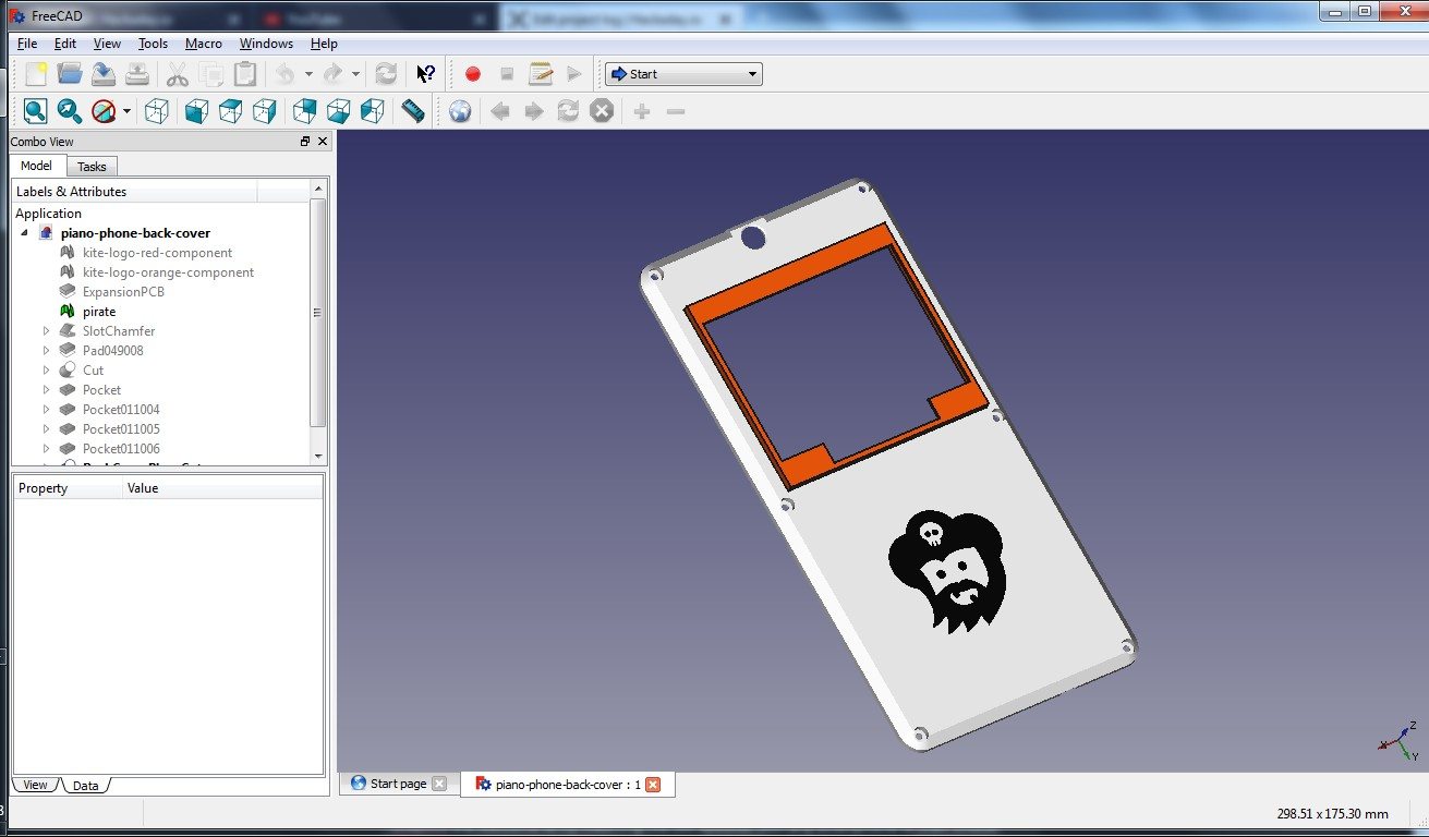freecad-back-cover