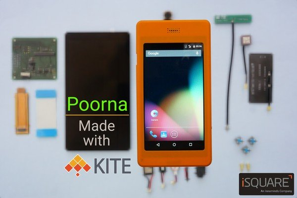 Poorna, a complete Kite smartphone