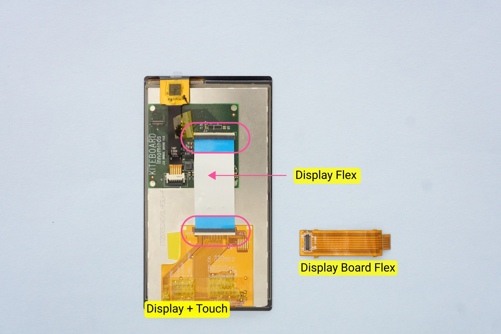 Building Poorna Your First Kitephone Touch Musical Bell Circuit Schematic It Is A Two Layer Flex Cable Designed To Carry Impedance Controlled Signals With Proper Reference Planes Design